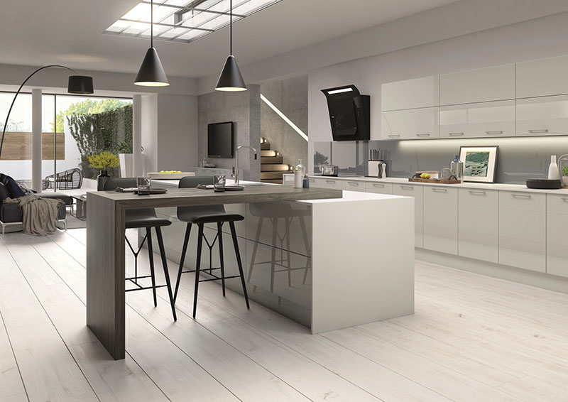 Contemporary Kitchens In Ayrshire Kitchen Fitting In