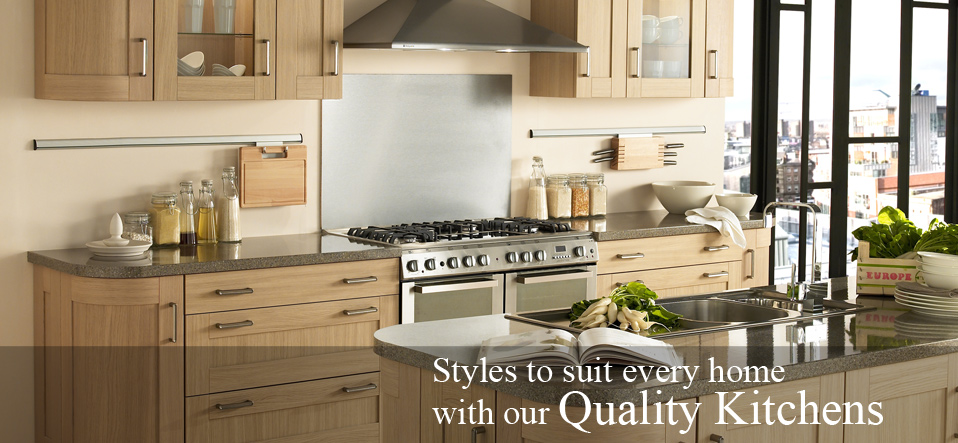 Styles to suit every home with our quality kitchens